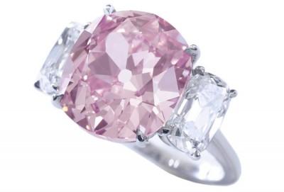 Historique diamant rose