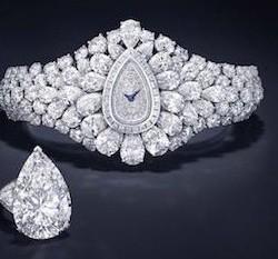 20-03-2015 : Une montre recouverte de diamants