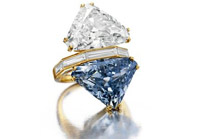Diamant bleu 10.95ct - Blue diamond 10.95ct