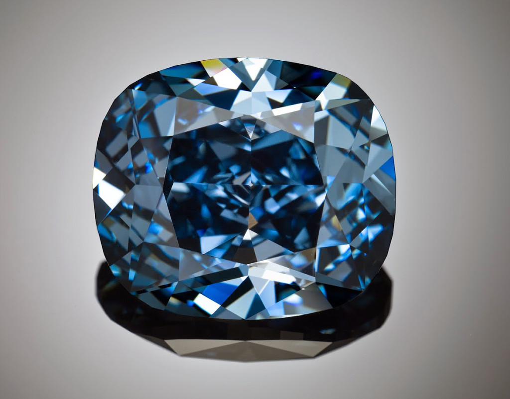 Diamant Blue Moon - Blue Moon Diamond