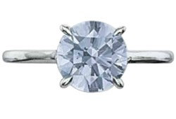 Diamant bleu 1.74ct - 1.74ct blue diamond