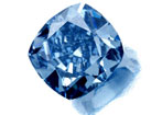 diamant bleu 5.16ct - 5.16ct Blue diamond