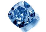 diamant bleu 5.16ct - 5.16ct Blue diamond