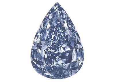 le diamant Winston Blue - Winston Blue diamond