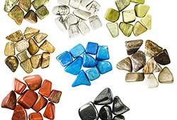 Pierres roulées - Tumbled stones