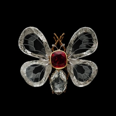#BOUCHEREON #BurmeseRuby #Diamond #ButterflyBrooch #Circa 1892