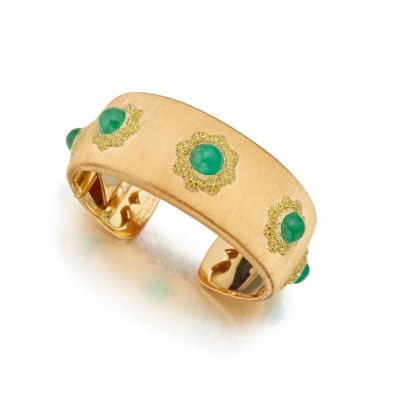 #BUCELLATI #Gold #Emeralds #Emeraudes #Diamonds #Diamants