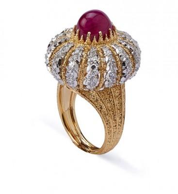 #BUCELLATI #Ruby #Diamonds #Ring