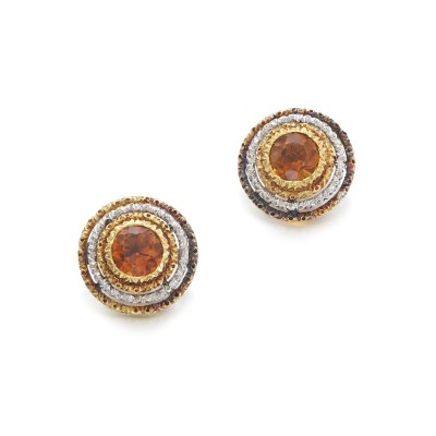 #BUCELLATI #citrine #earrings