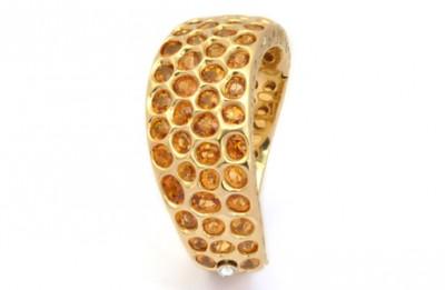 Bracelet Mandarin (grenats) - Mandarin garnets Bracelet