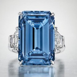 "18 mai 2016: Le diamant bleu ""Oppenheimer blue"""