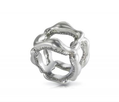 #FABERGE #Ring #Platinum #diamonds