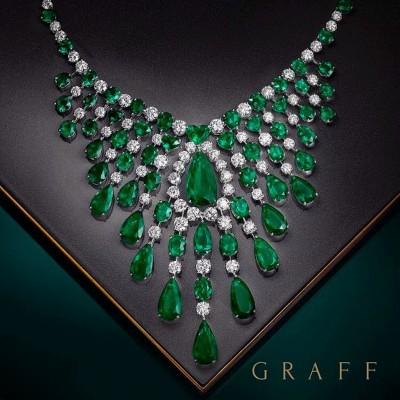 #GRAAF #Diamond #Emerald #Necklace