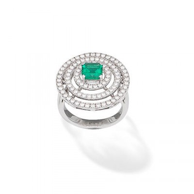 #GRAAF #Diamond #Emerald #Ring