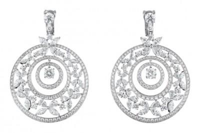 #GRAAF #Diamond #Gold #Earrings #Diamant #Or #Boucles d'oreilles