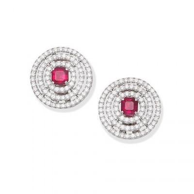#GRAAF #Diamond #Ruby #Diamonds #Earrings