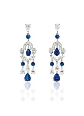 #GRAAF #Diamond #Sapphire #Earrings