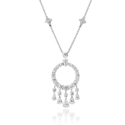 #GRAAF #Diamond #White Gold #necklace #diamant #Or Blanc #collier