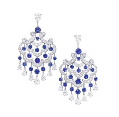 #GRAAF #Diamonds #Sapphires #Earclips