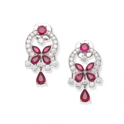 #GRAAF #Rubies #Earrings #'Butterfly'