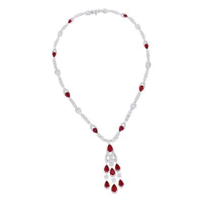 #GRAAF #Rubies #diamonds #necklace