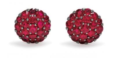 #GRAAF #Ruby #Diamond #gold #Earrings #Diamant #Or #Boucles d'oreilles