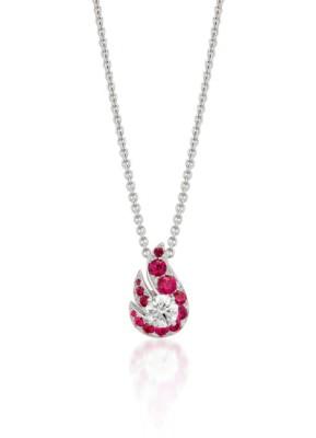#GRAAF #Ruby #Diamonds #FlamePendant