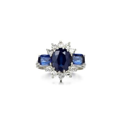 #GRAAF #Sapphire #diamond #Saphir #diamant #ring