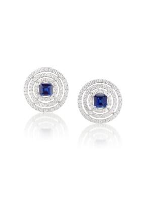 #GRAAF #Sapphires #Diamonds #Earrings