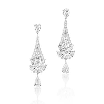 #GRAAF #diamants #diamonds #Earrings #Boucles d'oreilles
