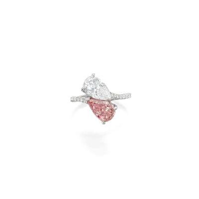 GRAAF-ring-white diamond-pink diamond