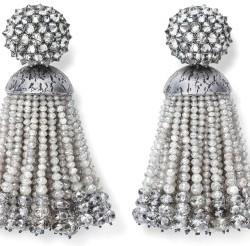 #HEMMERLE #Diamants #Argent #or #boucles d'oreilles #earrings