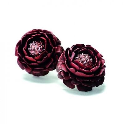HEMMERLE-earrings-aluminium-pink diamonds