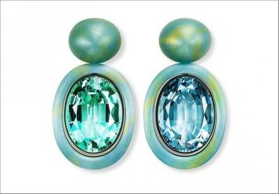 HEMMERLE-earrings-aluminium-silver-aquamarine