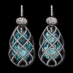 HEMMERLE-earrings-aquamarine-diamonds-silver-white gold