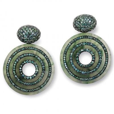 HEMMERLE-earrings-sapphires-jade