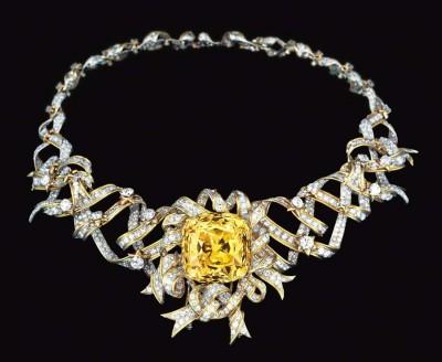 #JEAN SCHLUMBERGER #Bague #Diamants blancs #Diamant jaune #Ring #White diamonds #Yellow diamond