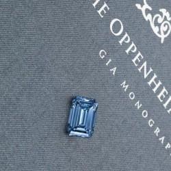 Oppenheimer blue diamond 14.62ct. Source Christie's