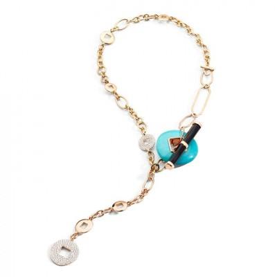 #POMELLATO #Necklace #Turquoise.#2021
