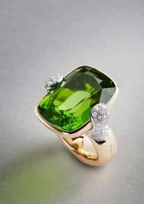 #POMELLATO #Ring #Peridot #Diamonds