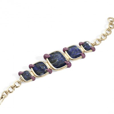 POMELLATO-denim-lapis-lazuli-bracelet