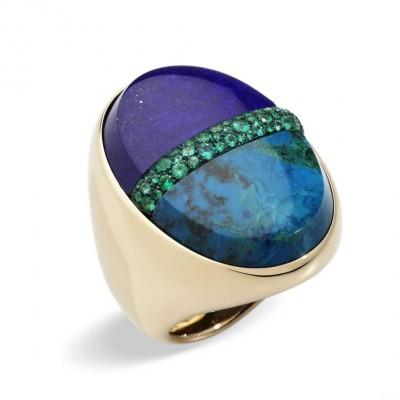 POMELLATO-penelope-s-dream-lapis-lazuli-chrysocolle-emeralds