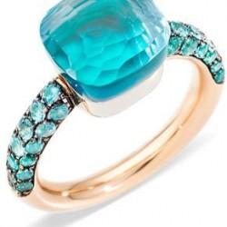 #POMELLATO #ring #Blue Topaz