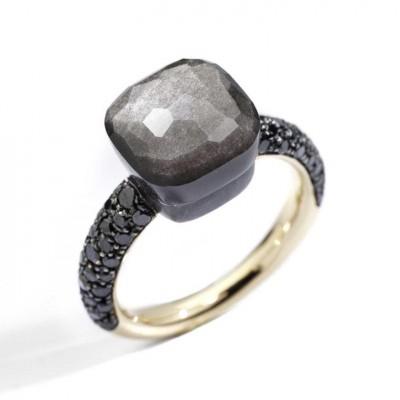 #POMELLATO #ring #obsidian