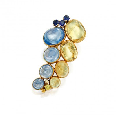 #SuzanneBelperron #diamonds #sapphires #Clip