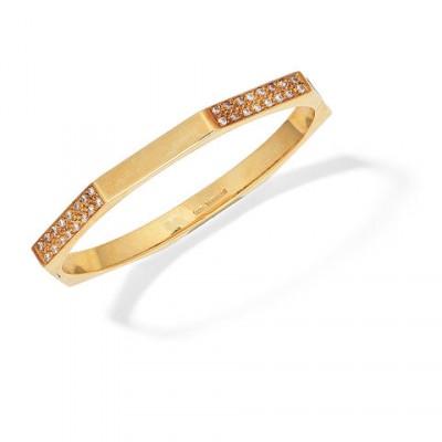 #TIFFANY #Diamonds Set #Bangle #Gold #1978