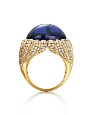 #TIFFANY #Diamonds #tanzanite #ring #2015