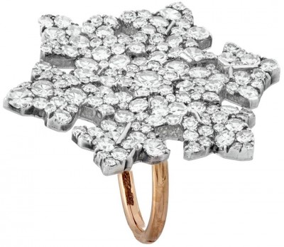 #JAR #SNOWFLAKERING #diamonds #18KRoseGold #silver #platinum #PriceRealisedUSD100,000#CHRISTIE'S #MAGNIFICENTJEWELS  #JoelArthurRosenthal