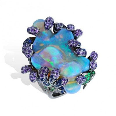 #LYDIA COURTEILLE #opale #ring #opal #jewelry