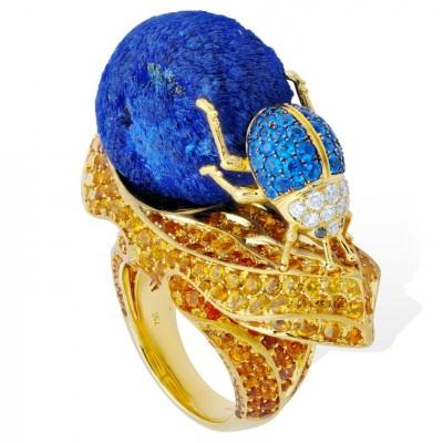 LYDIA COURTEILLE-saphirs-lapis lazulis-sapphires